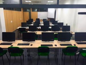 Aula Informática de Escuela FEP